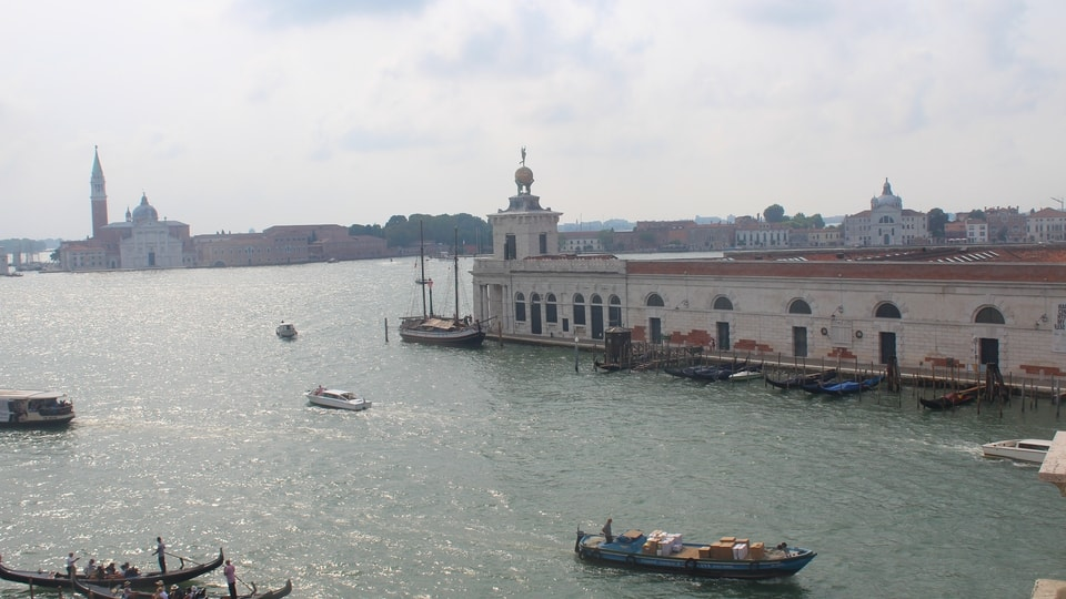 Live view of Venice from The Westin Europa & Regina