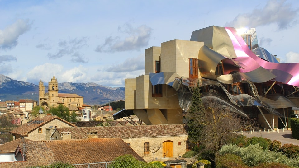Room with a View from Hotel Marques de Riscal Elciego