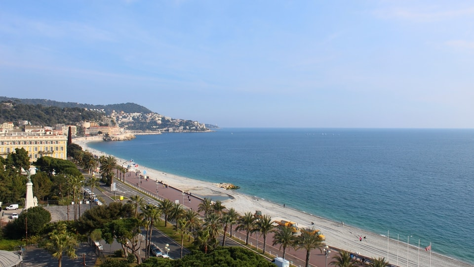 Live Webcam view from Le Méridien Nice