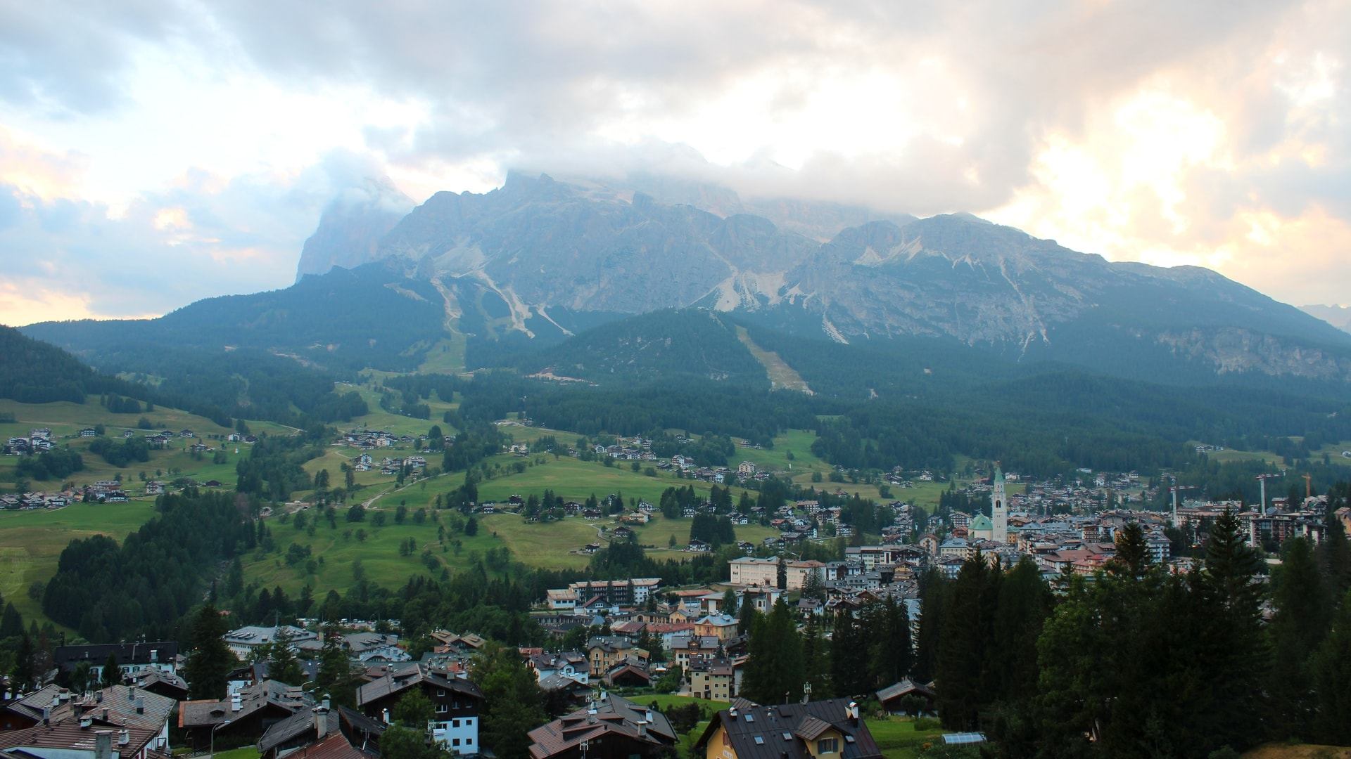 Webcam su Cortina d'Ampezzo